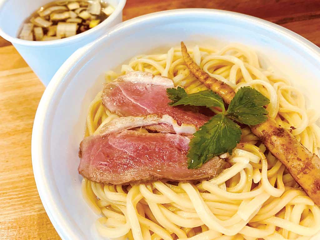 鴨汁つけ麺 880円