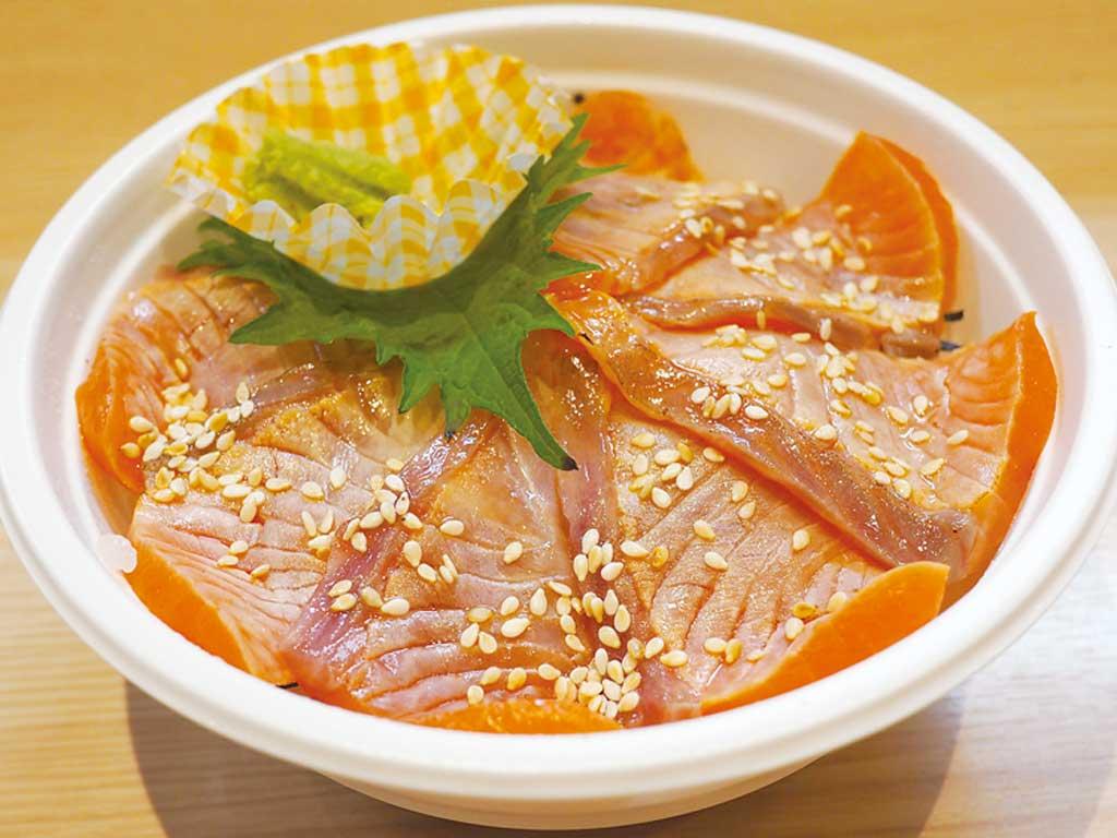 炙り信州サーモン丼 1000円