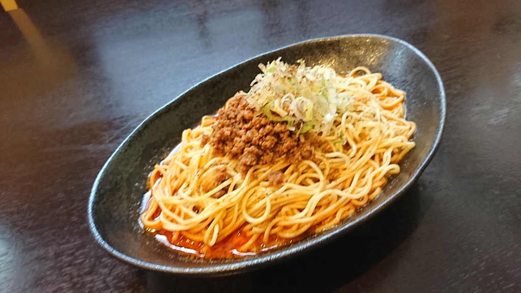 汁なし担担麺(1~5辛) 730円